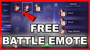 Battle Emote ML APK